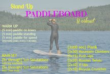 easy like paddle boarding / Paddle boarding workouts and motivation