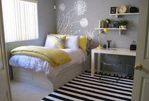 bedroom ideas / by Alaina Bower