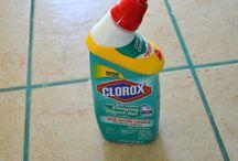 limpieza en la casa
