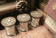 Empty Candle Jar Ideas / We love everyone's fabulous ideas on how to re-use and up-cycle your used Candle Jars.