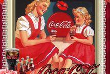 coca cola pubblicità / by Urania Pantini