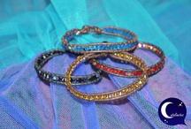 Pulseras llenas de color Swarovski / Colección de pulseras de colores realizadas con cristales Swarovski