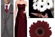 Burgundy wedding theme
