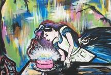 Wet Paint Party Art 2013