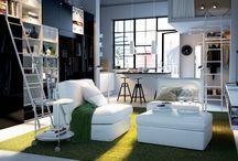 big living in small spaces. / by brettVdesign - interior designer + blogger