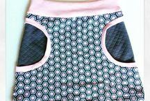 kleding kleine meid naaien