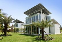Solar energy to produce hydrogen for off grid houses