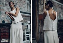 WEDDING  || Crop Top Dress / Crop top wedding dress, robe de mariée jupe et top