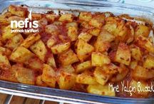 patates yemekleri