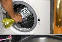 limpieza de lavadora