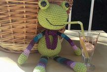 """Amigurumi toys / """"Clay&Crochet"""" Amigurumi,Crochet,Horgolás"""