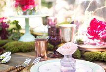 Garden moss wedding inspiration