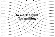 Marking quilts