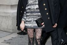 Famous Fashion / The hottest celebs in even hotter hosiery!
