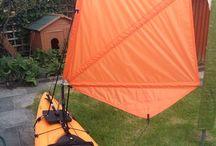 sail kayak