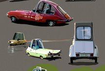 cartoony vehicles