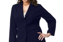 Business Clothes for Curves at Bargain Prices / Mix and match items to build a business wardrobe when you cant afford high quality items just yet.   / by Julie Bug