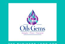 Essential Oils Logos / Our clients are independent distributor of Young Living Essential Oils. View some successful logo design samples by TheBusinessLogo.com