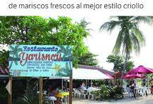 Restaurante Yarisnori en Bocas del Drago, Bocas del Toro  PANAMA / by Letzi Arauz