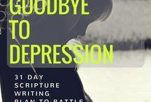 Scriptures to overcome depression