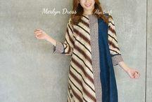 Batik, tenun ikat, kebaya