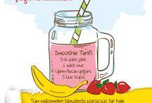 Smoothie Smoothie / En güzel smoothie tarifleri..