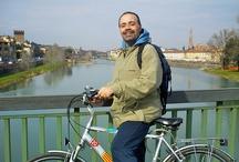In bici sull'Arno