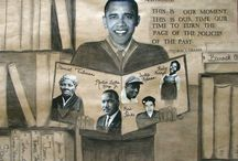 Black History Month / Studio art lesson plans related to Black History Month / by SchoolArts Magazine