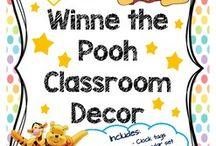 Winnie the Pooh Classroom Decor
