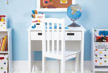 Children's desks and desk accessories / Our children's desks are a crucial cog in the wheel of bedroom organisation! They offer useful storage as well as a dedicated space for homework or arts and crafts. Team it up with some of our ingenious Children's Desk Accessories to keep writing surfaces uncluttered.