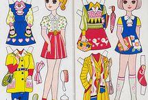 DOLLS - Paper-Dolls....