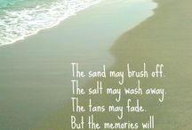 Words We Live By / Beach quotes