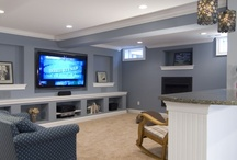 Basement ideas  / by Megan Rockey