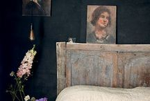 at home  /  color accent / - simple ideas to freshen your space with color