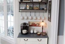 Diy kitchen coffee station