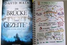 Book & Sketchnote / Bücher begleitet von Sketchnotes & Lettering.