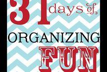 Organizing / by NoahMellisa Schrock