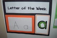 Letters & Literacy Ideas