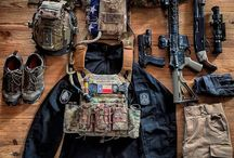 Tactical Gear/Weapons