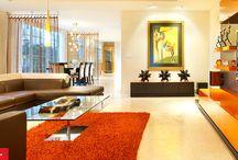 Ambiente colorate / Culori si accente folosite in designul interior