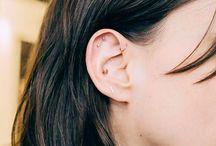 Minimalist piercings