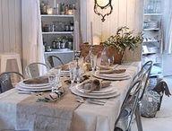 ♥ Gedekte tafel