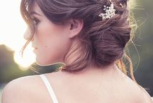 Raccolti e intrecci sposa wedding / Moda hair stile ispiration