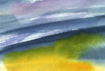 Aquarelschilderijen/Watercolorschilderijen