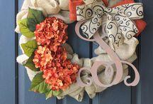 wreath Ideas / by Tracie Ewing