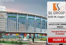 SS Group  / SS new commercial project Sector 86 Gurgaon is a towers of G + 4 floors, it is one of the most important commercial address you can have in the city. Currently under construction, SS new commercial project is a planned development with landscaped gardens and water bodies provide the much needed visual respite required in a crowded city.