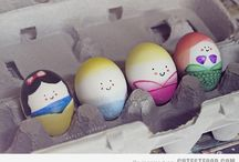 Girlie Easter eggs