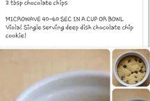 Cookie in a mug