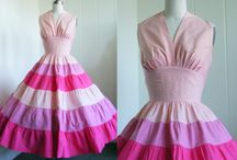 Vintage Party Dresses / One of a kind vintage party dresses that are certain