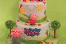 Gâteaux peppa pig